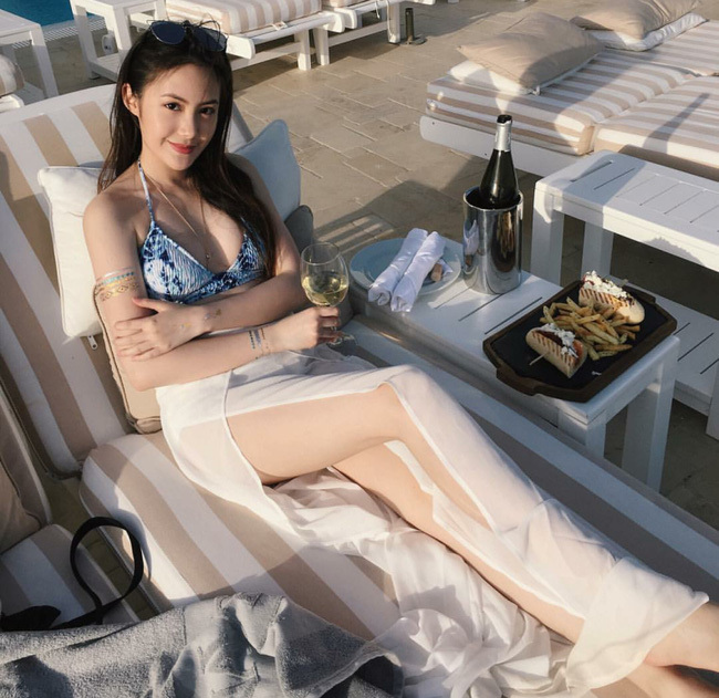 Cuộc sống giàu có đáng ngưỡng mộ của hot girl Lào gốc Việt ở tuổi 22-4