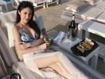 Hot girl Lào gốc Việt đón Tết ở Hà Nội, hào hứng ăn bún riêu vỉa hè-7