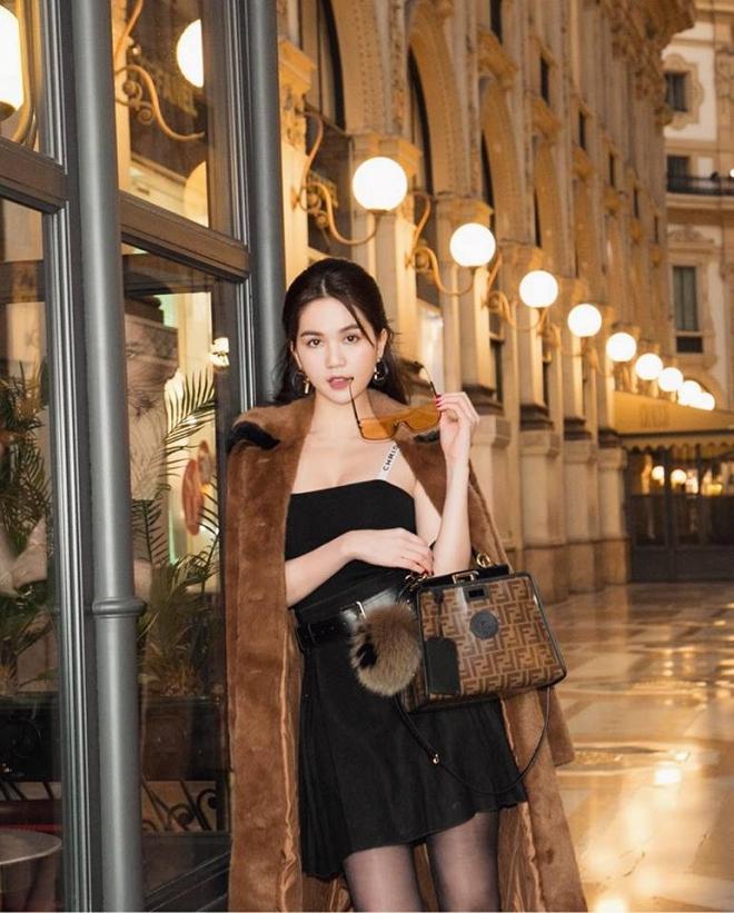 Ngọc Trinh phủ hàng hiệu từ đầu tới chân, sải bước ở kinh đô thời trang Milan-6