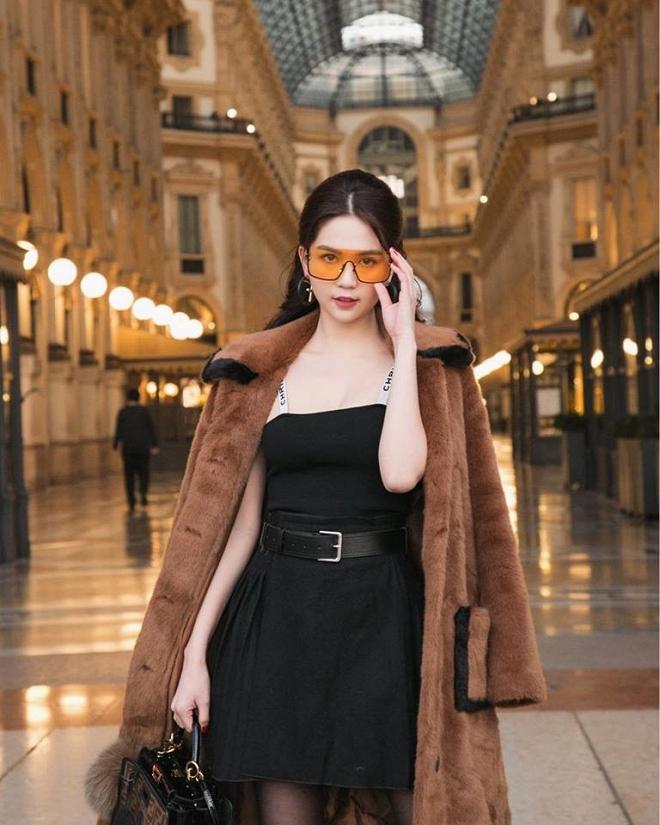 Ngọc Trinh phủ hàng hiệu từ đầu tới chân, sải bước ở kinh đô thời trang Milan-8