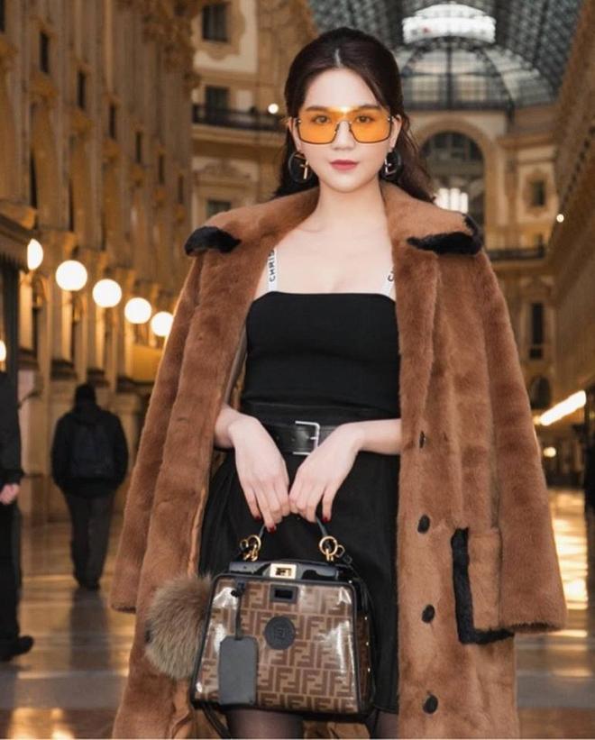 Ngọc Trinh phủ hàng hiệu từ đầu tới chân, sải bước ở kinh đô thời trang Milan-9
