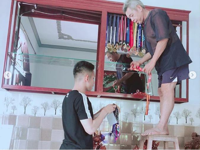 Nghỉ xả hơi ăn Tết, dàn hot boy đội tuyển Việt Nam thi nhau khoe nhà mới, đi chơi cùng bạn gái-10