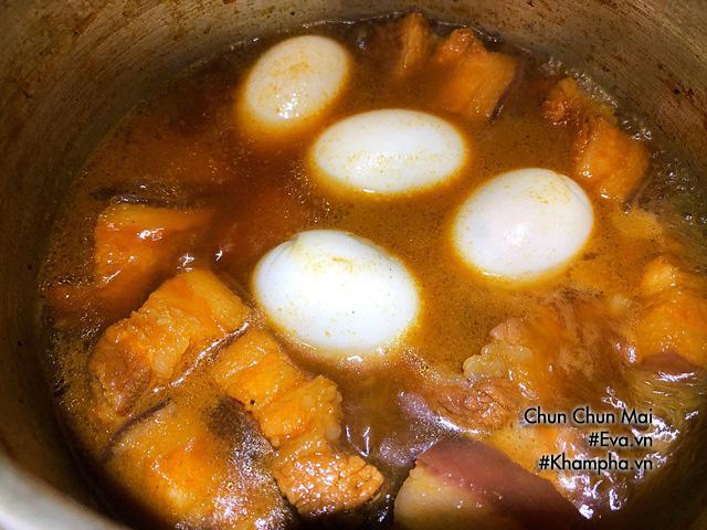 Thịt kho trứng đậm đà thơm ngon không thể thiếu trong ngày Tết miền Nam-5