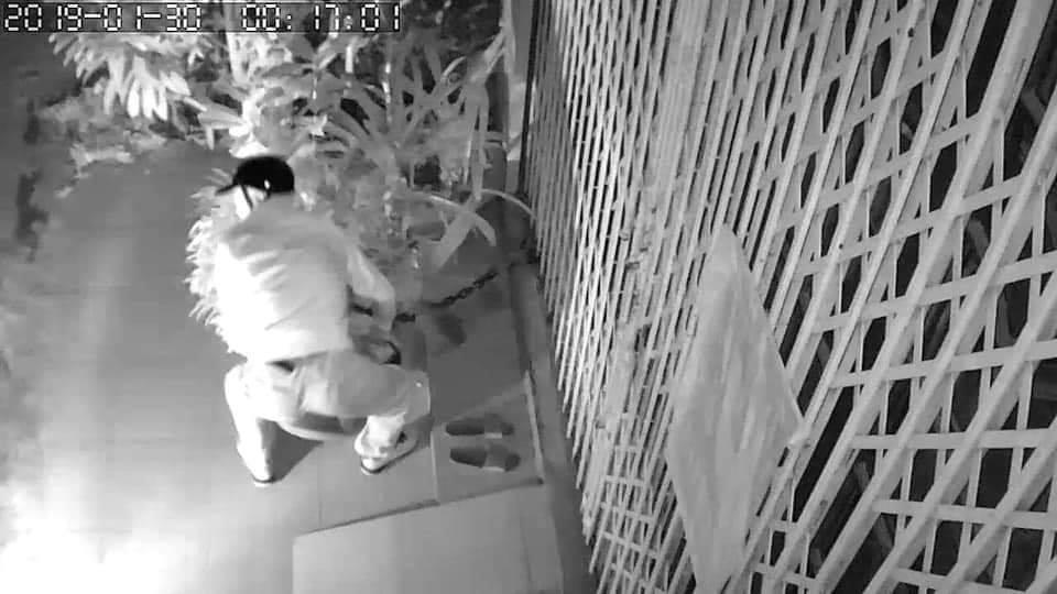 Chọn nhầm nhà để ăn trộm, kẻ gian bỗng dưng phải còng lưng bê vác rồi bất lực bỏ lại chậu mai-3
