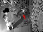 Sau khi trộm thành công, thanh niên quay lại quỳ lạy trước cửa nhà gia chủ-1