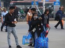 Người dân bắt đầu ùn ùn rời khỏi Thủ đô về quê nghỉ Tết Nguyên đán 2019