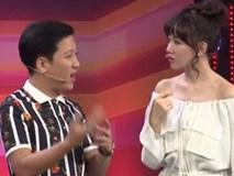 Bị Trường Giang so sánh với Á hậu Hà Thu để chê bai, Hari Won đáp trả thẳng thừng