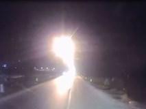 Đâm trực diện vì xe ngược chiều bật đèn pha lóa mắt