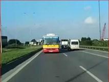 Sự thật phía sau chiếc xe bus đi lùi gần 70km/h trên cao tốc