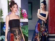 'Diện lại' đầm thảm họa của Hoàng Thùy Linh: Jun Vũ lộ thân hình trơ xương - Khánh Linh The Face đẹp xuất sắc