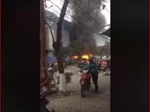 Thái Nguyên: Cháy lớn tại chợ trung tâm thành phố