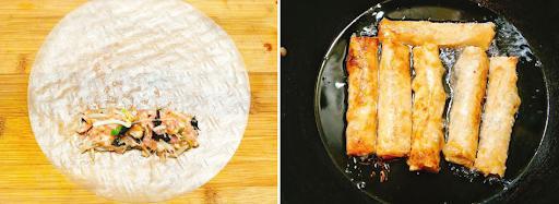 Cách làm nem rán ngon giòn rụm cho mâm cơm truyền thống tròn vị-4