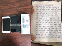 Tên cướp bí ẩn gửi trả 100 triệu đồng cùng thư xin lỗi