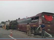 Ô tô chở khách về quê ăn Tết gặp nạn trên cao tốc Hà Nội - Lào Cai