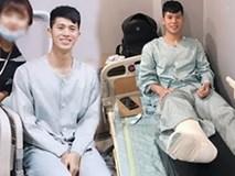Sang Hàn Quốc điều trị chấn thương, fans giật mình xót xa khi Đình Trọng xuất hiện với gương mặt gầy gò