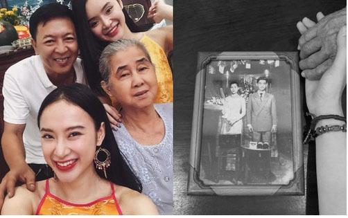 Angela Phương Trinh kể chuyện xúc động về bà ngoại: Bán xôi nuôi con cháu từ 18 đến nay 81 tuổi-1