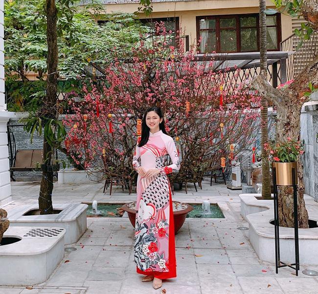Mùng 1 Tết: Ngợp trời sao diện áo dài, nhưng nổi nhất là vợ chồng Hà Tăng và Lan Khuê với cơ ngơi dát vàng-7