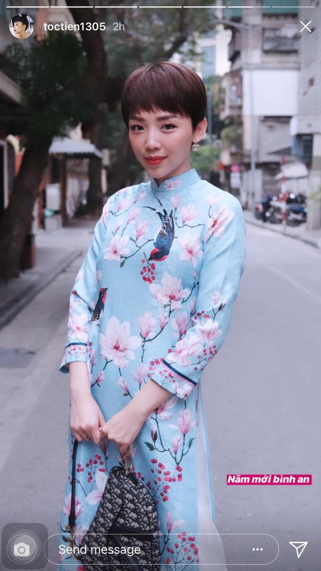 Mùng 1 Tết: Ngợp trời sao diện áo dài, nhưng nổi nhất là vợ chồng Hà Tăng và Lan Khuê với cơ ngơi dát vàng-8