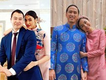 Mùng 1 Tết: Ngợp trời sao diện áo dài, nhưng nổi nhất là vợ chồng Hà Tăng và Lan Khuê với cơ ngơi dát vàng