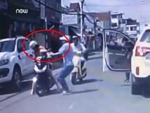 Phẫn nộ cảnh người đàn ông đánh cô gái giữa đường mùng 1 Tết