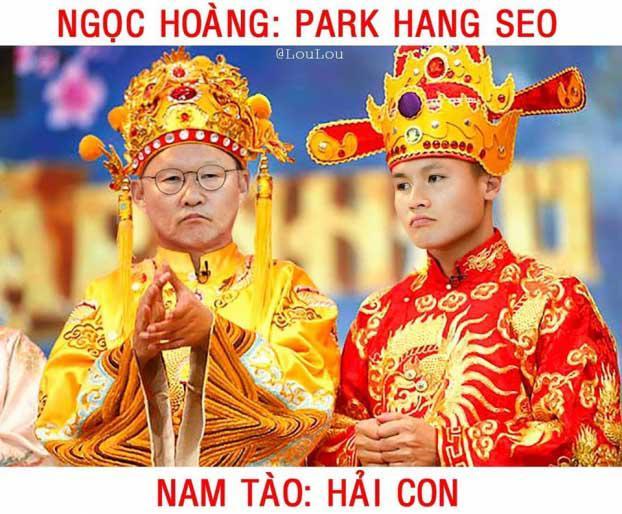 Bộ ảnh chế siêu hài hước khi ĐT Việt Nam hóa thân vào vai Táo quân-1