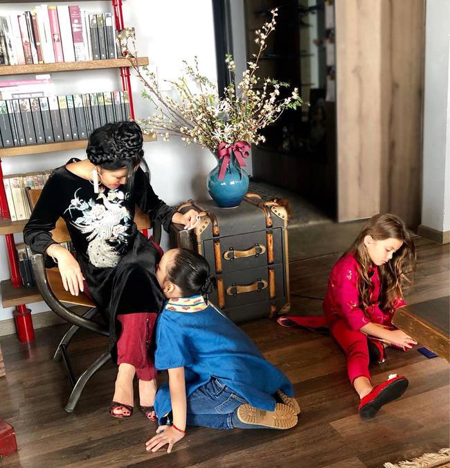 Năm đầu làm mẹ đơn thân, Hồng Nhung nói về Tết viên mãn cùng hai con-1