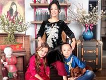 Năm đầu làm mẹ đơn thân, Hồng Nhung nói về Tết viên mãn cùng hai con