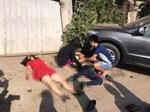 Lào Cai: 2 ô tô đâm nhau trên cao tốc khiến 9 người nhập viện-2