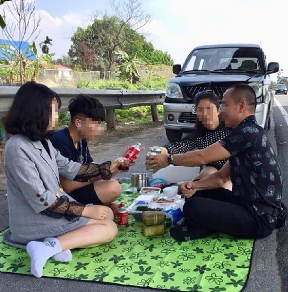 Danh tính người đàn ông Thanh Hóa mở tiệc ở cao tốc Nội Bài-Lào Cai-1
