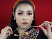 Beauty blogger Việt thử nghiệm phong cách trang điểm 'vịt hóa thiên nga' của hot girl Trung Quốc và thất bại thảm hại