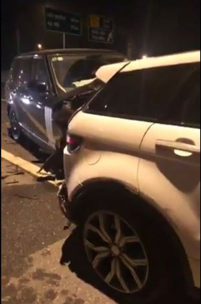 Vụ 2 xe Range Rover va chạm trên cao tốc Hà Nội - Hải Phòng: Trang phục của người phụ nữ bỗng gây chú ý-2