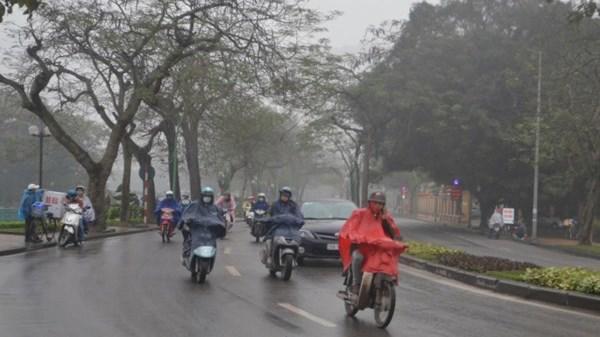 Thời tiết ngày đầu làm việc sau đợt nghỉ Tết: miền Bắc hết nắng nóng, có thể có mưa-1