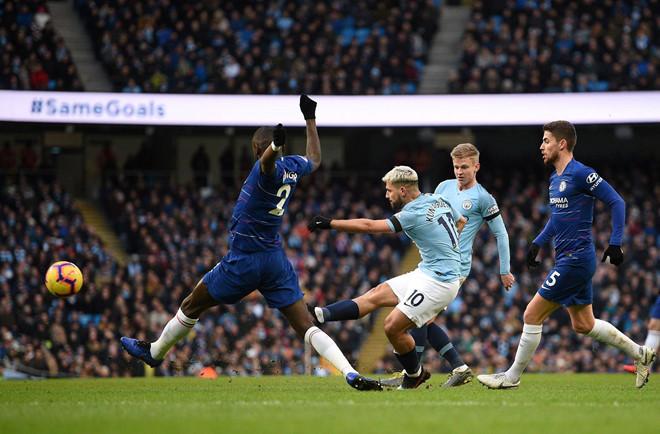 Đè bẹp Chelsea 6-0, Man City trở lại ngôi đầu Premier League-1