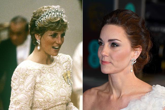Công nương Kate tỏa sáng như một nữ thần với vẻ đẹp hoàn hảo, tôn vinh mẹ chồng Diana trong sự kiện danh giá-4