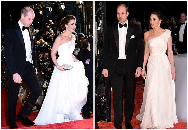 Công nương Kate tỏa sáng như một nữ thần với vẻ đẹp hoàn hảo, tôn vinh mẹ chồng Diana trong sự kiện danh giá-1