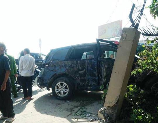 Vụ tai nạn thảm khốc 3 người chết ở Thanh Hóa: Tài xế xe khách không làm chủ tốc độ?-3