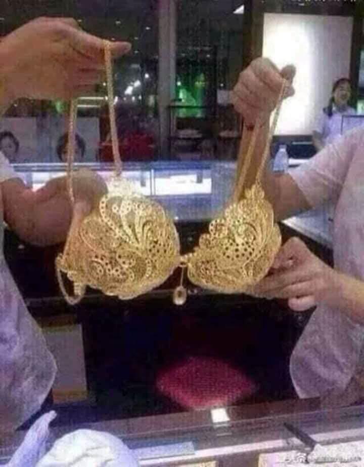 Thực hư bộ bikini bằng vàng ròng khiến chị em mê mẩn trước ngày vía Thần Tài-1