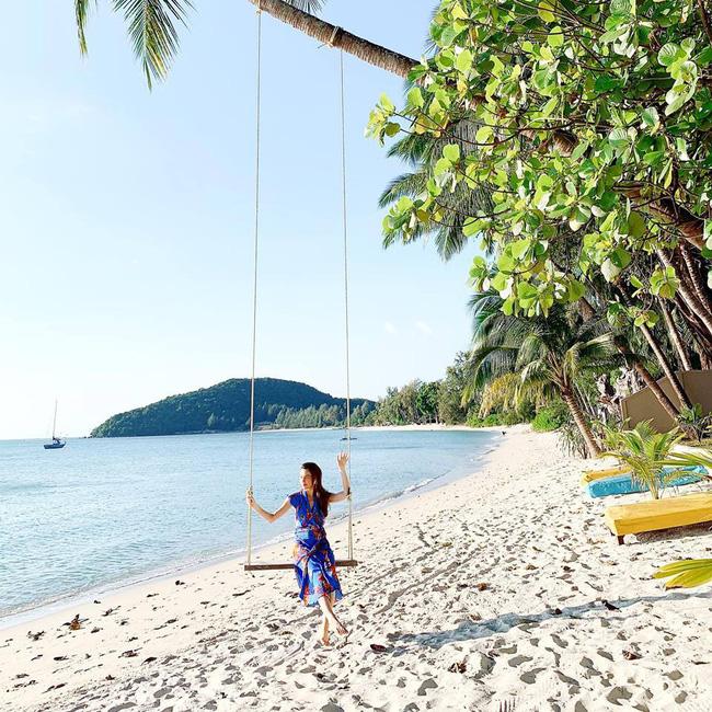 Cường Đô la đưa Subeo và Đàm Thu Trang đi du lịch, Hà Hồ cùng Kim Lý vi vu Thái Lan đầu năm-1