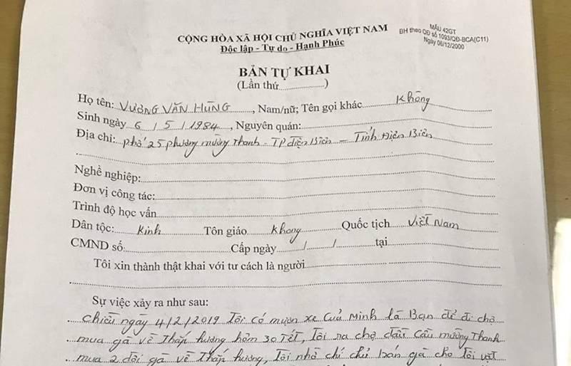 CA Điện Biên thông tin chính thức vụ nữ sinh đi giao gà bị sát hại-2