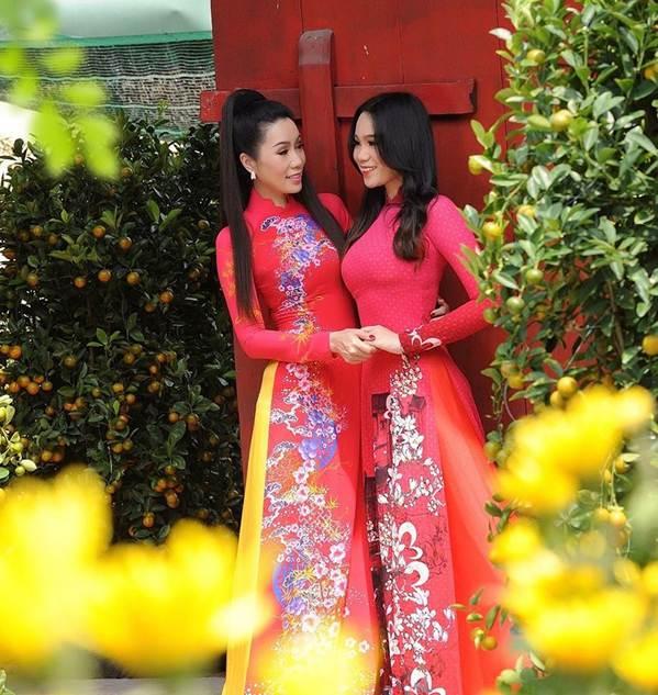 Bất ngờ con gái 16 tuổi xinh như hoa khôi của á hậu Trịnh Kim Chi-5