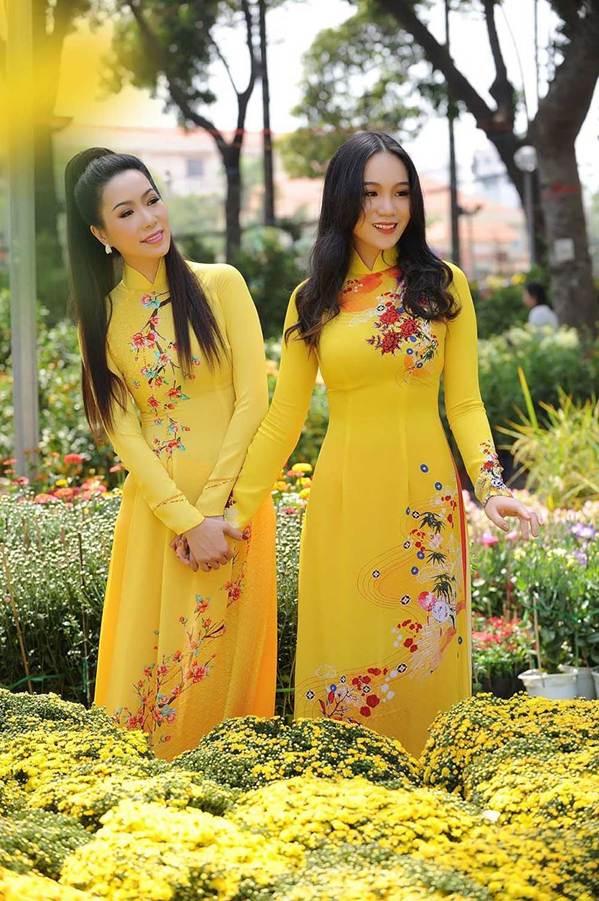 Bất ngờ con gái 16 tuổi xinh như hoa khôi của á hậu Trịnh Kim Chi-11