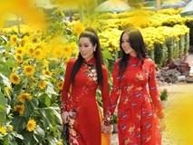Bất ngờ con gái 16 tuổi xinh như hoa khôi của á hậu Trịnh Kim Chi