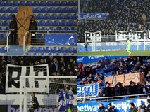 Fan của đội bóng Tây Ban Nha mà Quang Hải sắp sang tập luyện cùng gây sốc khi mang quan tài vào sân và đây là sự thật đằng sau