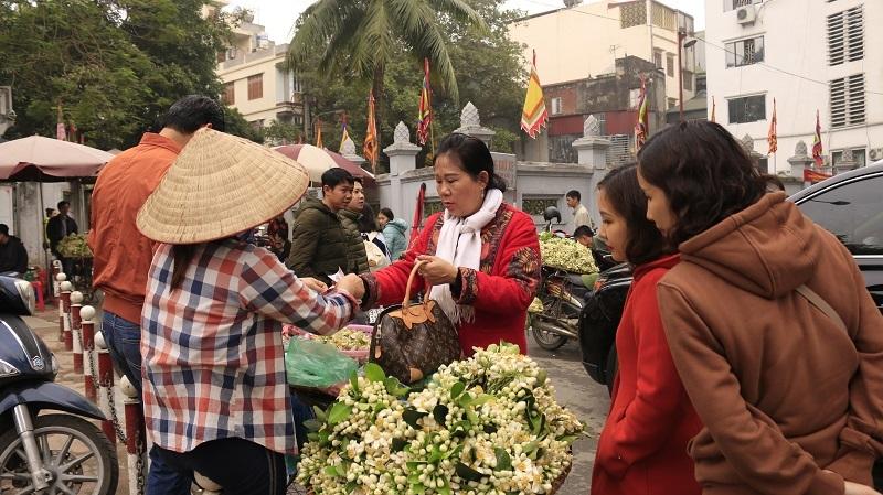 Đào phai, mai tàn, dân Hà thành chơi hoa bày đĩa nửa triệu/kg-5