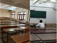 Loạt ảnh lớp học vắng như chùa bà Đanh vì sinh viên vẫn còn bận đắm chìm trong dư vị Tết