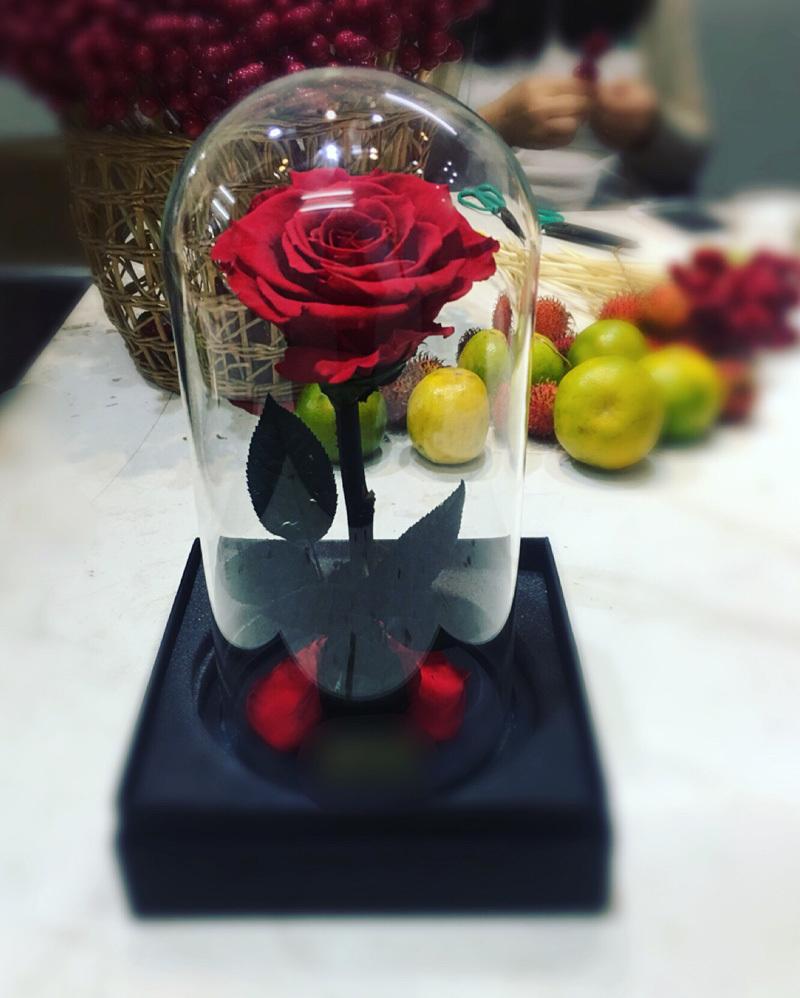 Bông hồng xanh dài gang tay 3,5 triệu: Chồng dám tặng vợ ngày Valentine-1