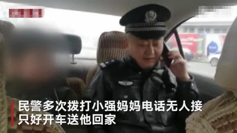 Cậu bé bị đuổi khỏi nhà vì chưa làm xong bài tập Tết, cảnh sát dẫn về tận nơi mẹ không chịu nhận con-2