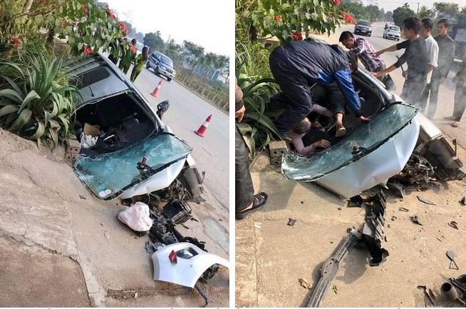 Hiện trường vụ tai nạn xe tải lao vào nhà dân khiến nhiều người cố đi tìm lời giải thích-4