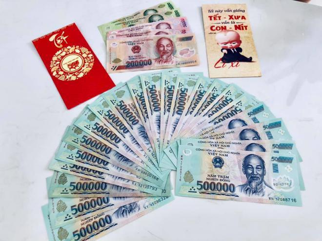 Được 11 triệu tiền lì xì, con gái Thủy Tiên - Công Vinh tiết lộ cách xài tiền khôn ngoan-3