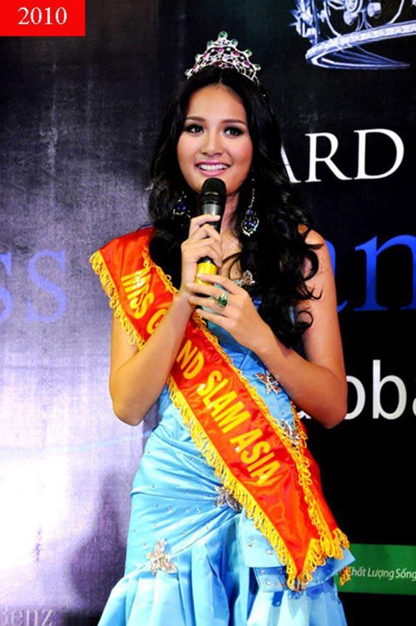 Cuộc sống của hoa hậu Việt duy nhất khiến H'Hen Niê lép vế-2